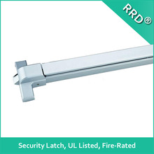 Fire Rated UL Listed Security Latch Vertical Rod Push Bar,Allen Key Dogging,RRD-171 ,RRD Lock