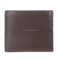 designer High quality full grain leather man wallet for business men
