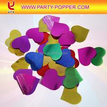 heart shape confetti