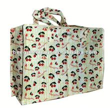 Recycled shopping bags wholesale pp lamination woven bag printing fruit