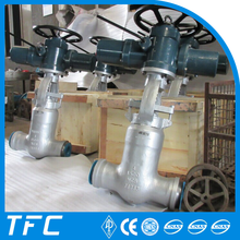 válvula motorizada válvula de compuerta alta presion