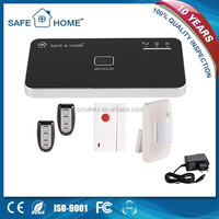 High quality Android&IOS APP controlled smart wireless security mobile call gsm alarm system