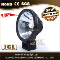JGL new led daytime running light 30w 12v 24v led driving light with Emark waterproof car headlight