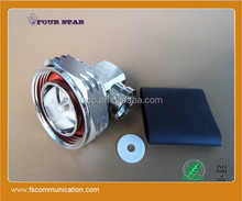 """din 7/16 Connector Male Right Angle (Soldering type ) For 1/2"""" Foam Superflexible Cable"""
