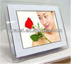 loop video photo slide show picture viewer of digital music album auto play led frame 12 inch acrylic material