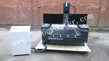 double head garments engraving/cutting machine co2 cutter acrylic machine screen protector