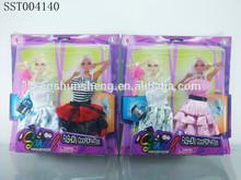 popular diseño de la tela de la muñeca muñecas hermosa niña de la muñeca de tela