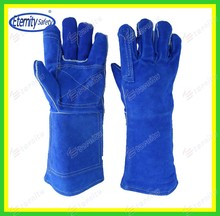 Industry glove safety working gloves Fastening two pieces of metal together welding gloves