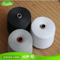 Wholesale undyed spun yarn,yarn for knitting socks,yarn for socks production