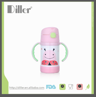 food grade keep hot and cold children water bottle thermos flask company logo
