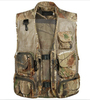 2015 New Outdoor Sports Spring Summer Fishing Hunting Vest Camo