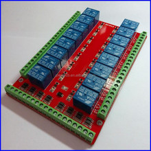 12v 16 Channel Relay Module Interface Board For Pic Arm Dsp Plc