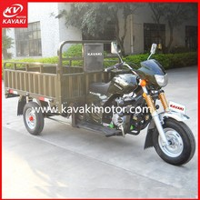 Popular hydraulic cargo tricycle cabin cargo tricycle three wheeler for Asia and Africa