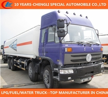heavy duty oil road tanker dongfeng brand fuel tanker 30ton used oil tanker for sale