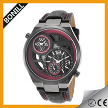 Mechanical watch for man with brand mechanical chronograph movement and waterproof from China watch factory