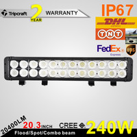 PROMOTION!! 240w led light bar,20 inch led light bar,suv/4x4 offroad/truck/car cre e led light