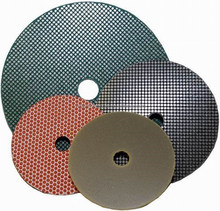 Diamond Electroplated Polishing Pads for thermal spray (glass/tile/hard metals/concrete,stones)