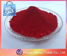China proveedor de pigmento de color rojo cadmio pigmento 108( p. R. 108)/óxido de hierro pigmentos para el ladrillo