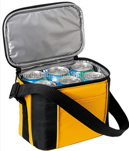 2015 New Fashionable 30 Can Wheeled Cooler bag with Dual Compartments