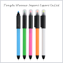 New style plastic click multi colored multipurpose pen