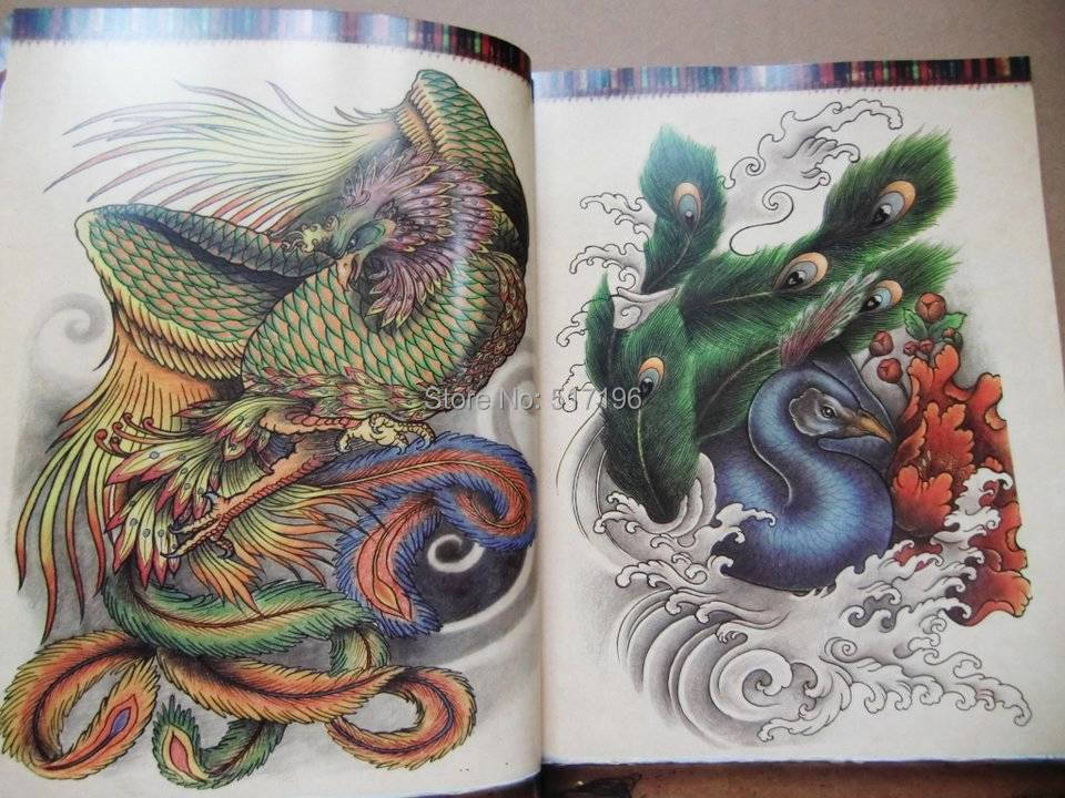 Wholesale new the oriental style tattoo flash sketch book for Japanese koi fish wholesale