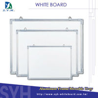 Different size for school magnetic ceramic whiteboard price