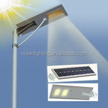 Zhejiang solar light producer new easy installation IP65 all in one solar street light