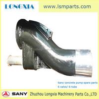 Sany concrete pump spare parts ,Sany pump discharge valve
