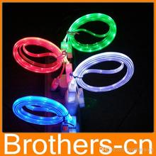 Visible LED Light Up Micro USB Charger Cable For Samsung, Htc,