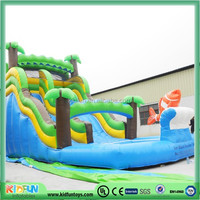 commercial inflatable water pool slides