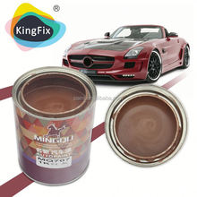 Factory manufacturing black metallic auto paint/car refinish made in China