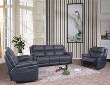 cheers leather sofa recliner,Dark blue italy leather recliner sofa,recliner sofa set