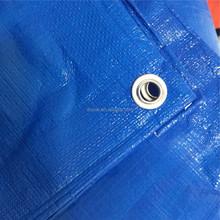 Laminated weatherproof PE Tarpaulin sheet / Blue tarpaulin sheet