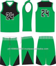 Basketball uniform Tackle twill sublimation