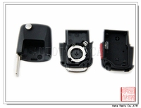 for VW Remote Control Shell car key shell 2+1 Button AS001014
