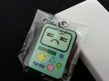 China custom shape full color print plastic led light pvc keychain