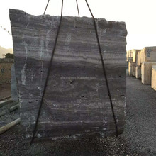 Hot sale Grey Wood marble block in stock with cheapest price
