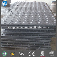 UHMWPE crane truck pad/ground protection mat/uhmw plastic walkways manufacturer