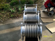 Hi-tech wear-resisting nr rubber expansion joint with flanges