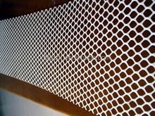 plastic road mesh/abs plastic mesh grill/plastic mesh sleeves