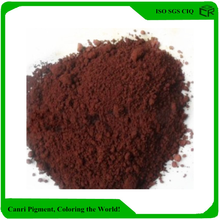 Inorganic chemical iron oxide brown for decorative concrete
