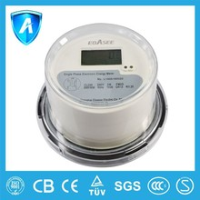2015 new design circle roundness style DSSI636 household commerical electronic digital kwh meter