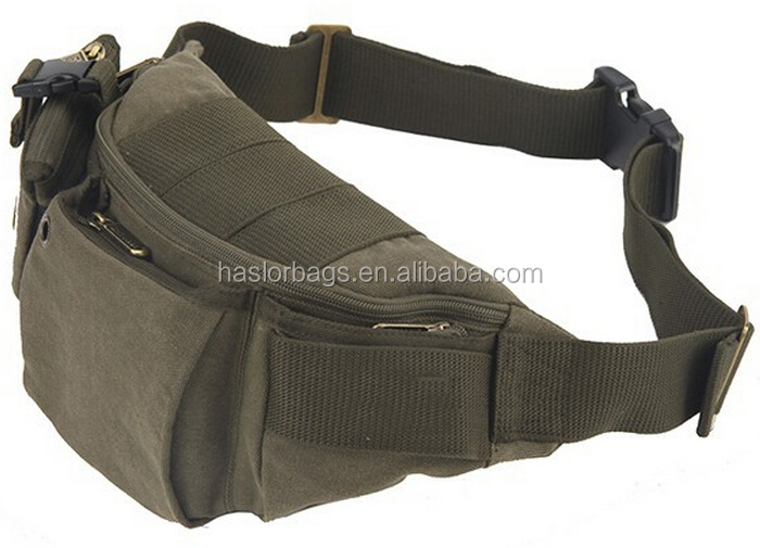 Haute Quolity de taille étanche sac / toile sac de taille pour hommes