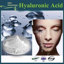 gmp fabbrica alimentazione caldo vendita di alta qualità acido ialuronico in polvere