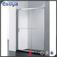 Shanghai Esuya 2015 promote aluminium frame sliding door complete 2 person shower room, corner bath shower screen