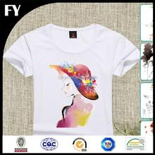 Factory direct high quality custom woman t-shirt
