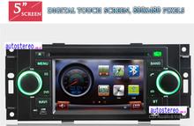 Car dvd player for Jeep Grand Cherokee Patriot Commander car GPS Navigation Satnav Radio car player video