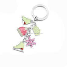 promotional soft enamel keychain for Xma halloween holiday