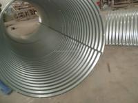 Half Circle Corrugated Galvanized Steel Culvert Pipe,Road/Bridge Culvert Pipe