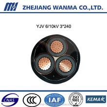 3 core black mv electrical wire prices of wanma cable